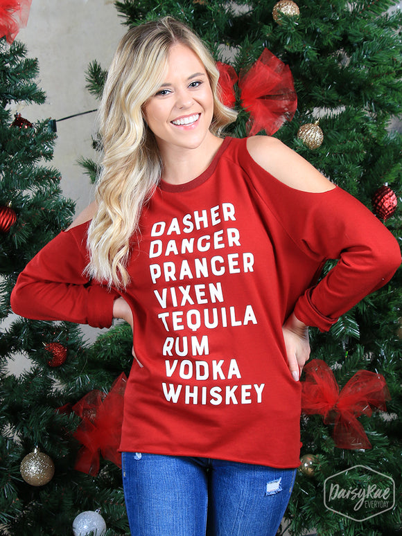 Dasher,Dancer,Prancer...Whiskey