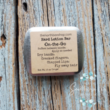 Load image into Gallery viewer, Beeswax Hard Lotion Bar