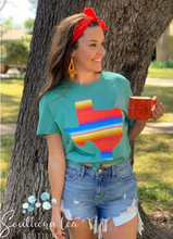 Load image into Gallery viewer, Texas Serape - Mint