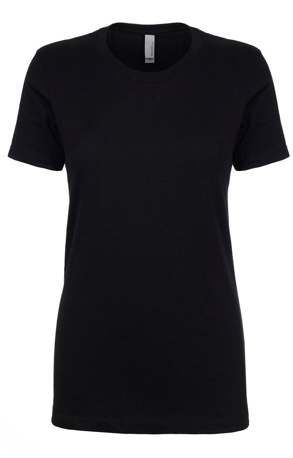 Black Next Level Blank Tee