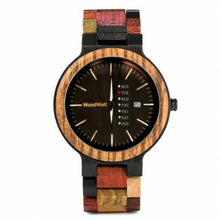 Load image into Gallery viewer, Ember WoodWelt Men's Watch
