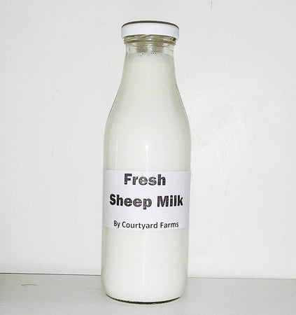 Fresh Sheep Milk (500ml)