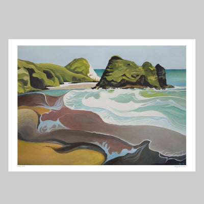 Camel Rock Art Print