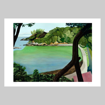 Enclosure Bay Art Print