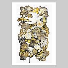 Gold Leaf Art Print