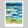 Hahei at high tide Art Print