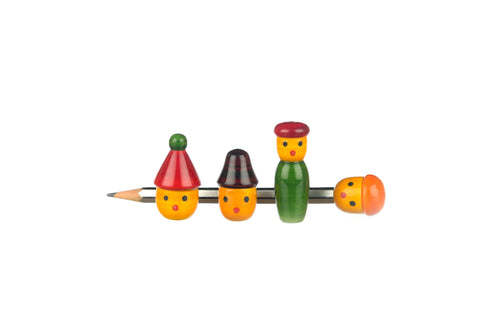 Pencil head pack of 4