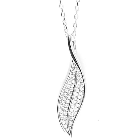 Feuille d'argent Necklace