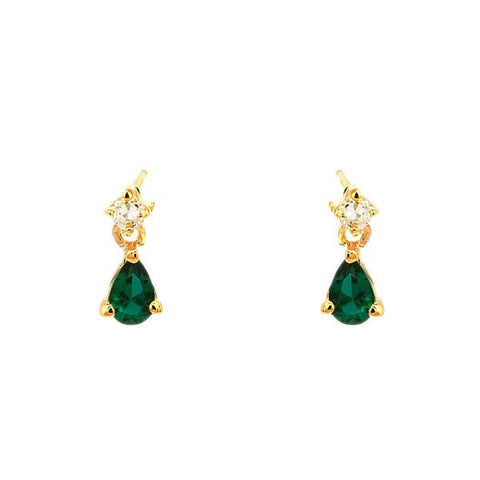 Emeraude earrings