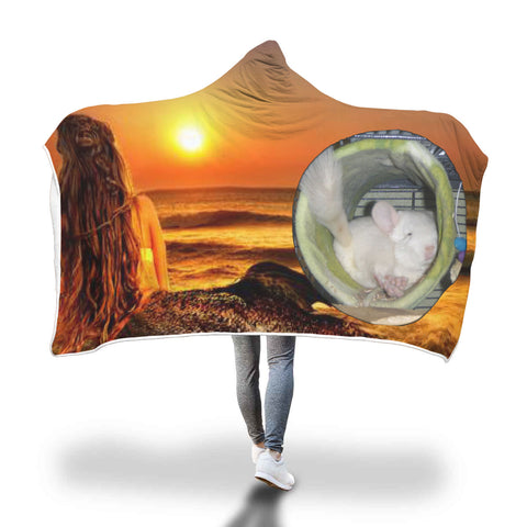 Custom Photo Hooded Blanket