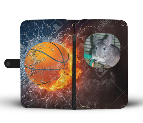 Custom Photo Wallet Phone Case - Basketball 3