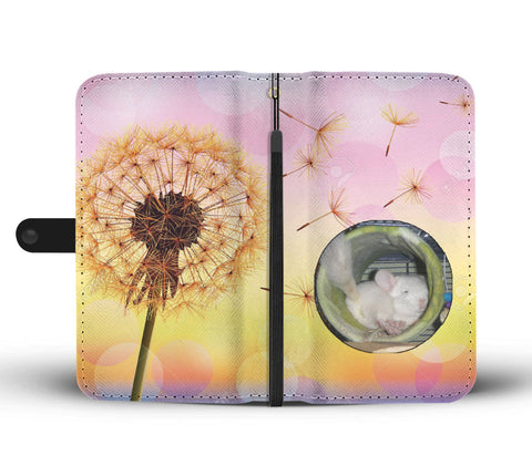 Custom Photo Wallet Phone Case - Dandelion