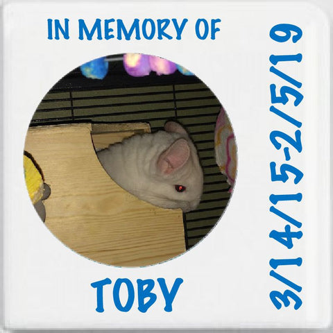 "Ceramic Photo ""In Memory"" Tile"