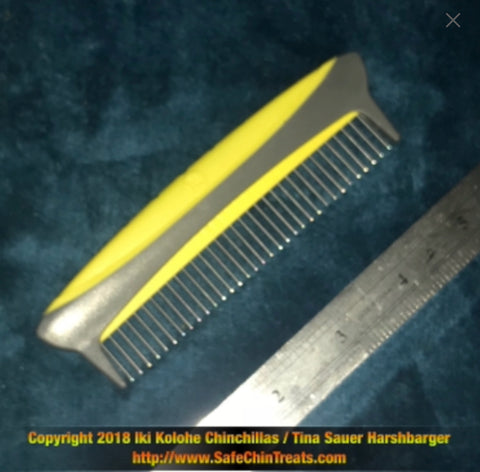 Rotating Pin Chinchilla Comb