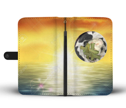 Custom Photo Wallet Phone Case - Tropical Sunset 3