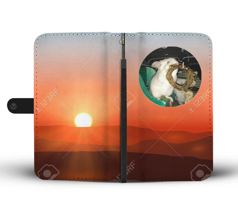 Custom Photo Wallet Phone Case - Sunset 3