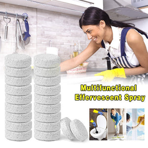 🔥🔥2019 20 PCS Multifunctional Effervescent Cleaner 1PCS=4L Water Concentrate Home Cleaning toilet cleaner chlorine tablets
