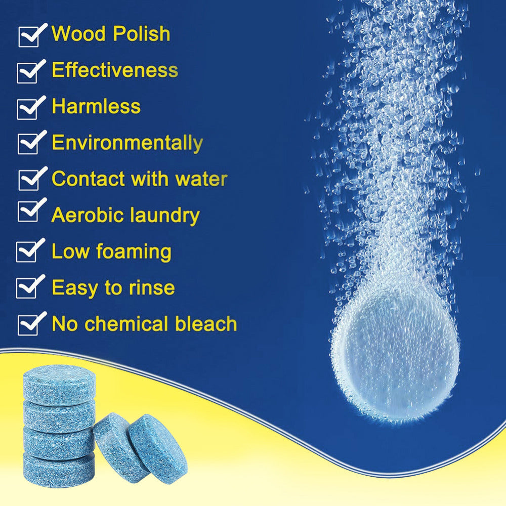🔥🔥2019 10/20/30pcs Multifunctional Effervescent Tablets Spray Cleaner for Car Windsheild Kitchen Bathroom Glass Wash