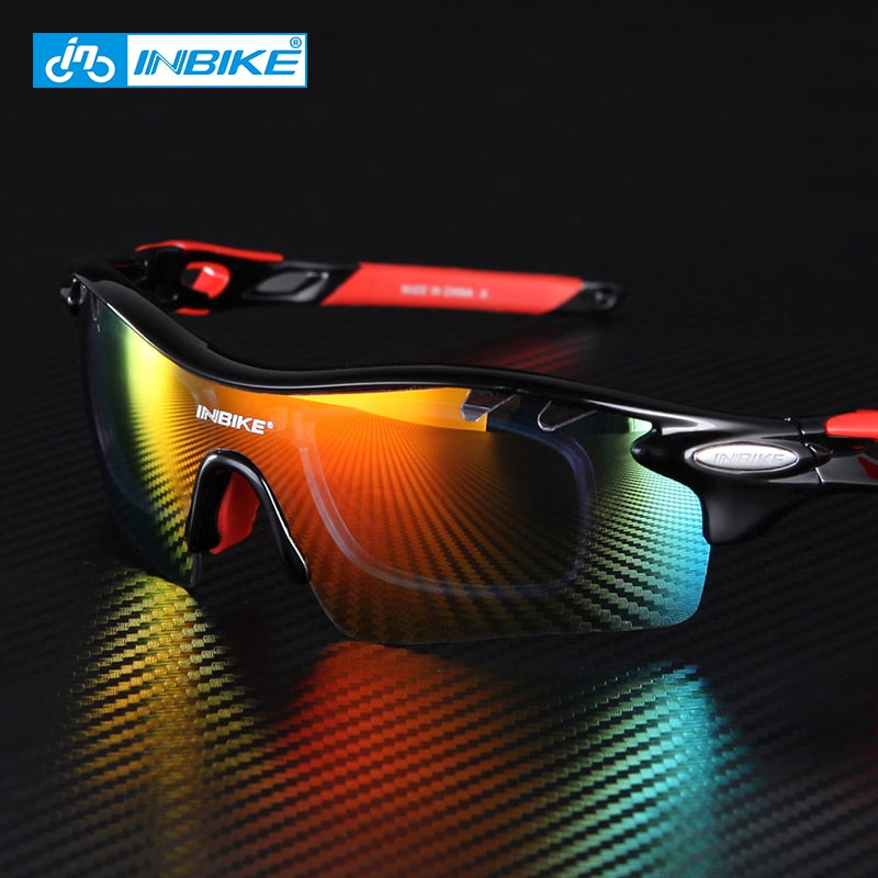 Cycling Glasses Men Women Polarized Bike Eyewear 5 Groups of Lenses Bicycle Goggles Outdoor Sports Sunglasses