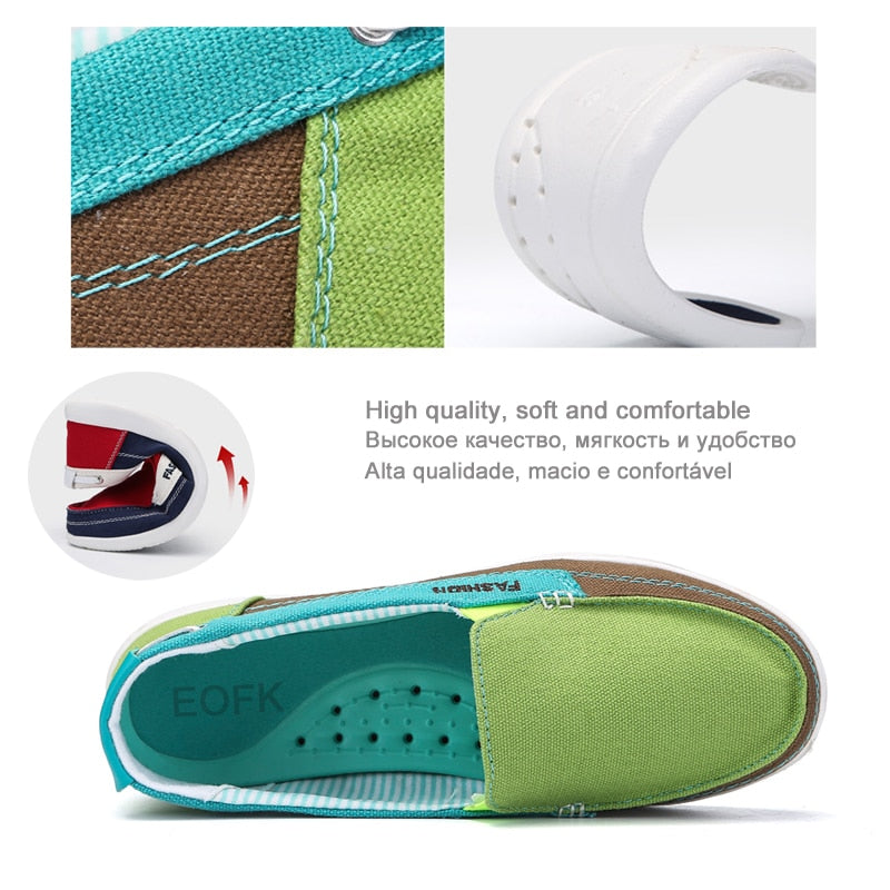 🔥BIG SALE🔥(🔥BUY 2 FREE SHIPPING🔥)Canvas shoes Woman Ladies Casual shoes