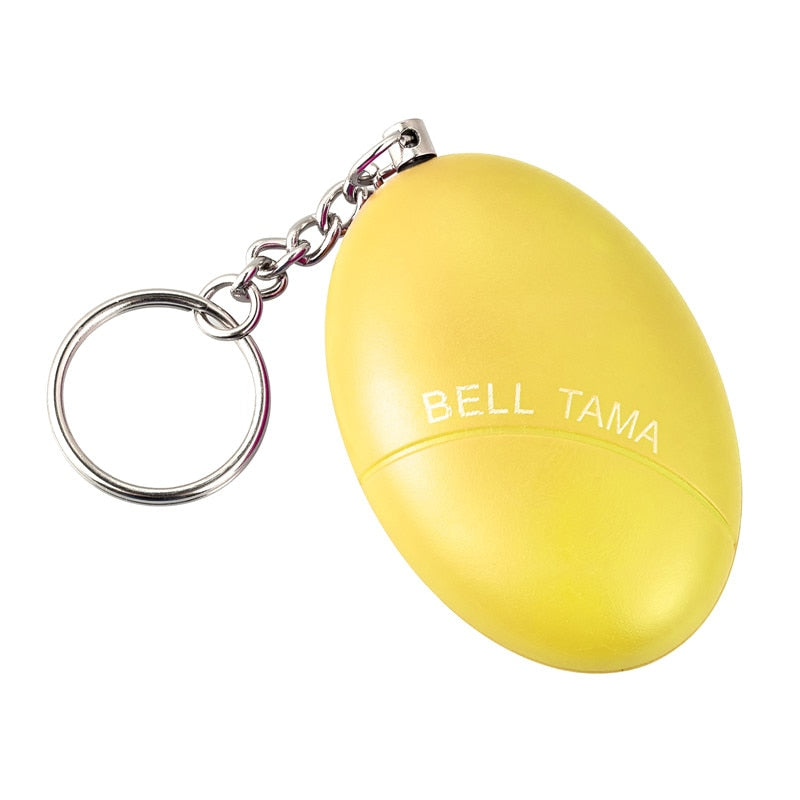🔥🔥Self Defense Alarm 120dB Egg Shape Women Security Protect Alert Personal Safety Scream Loud Keychain Emergency Alarm