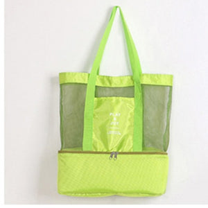 Large Thermal Insulation Cooler Bag women's handbag  multifunctional insulation package 2 Layers