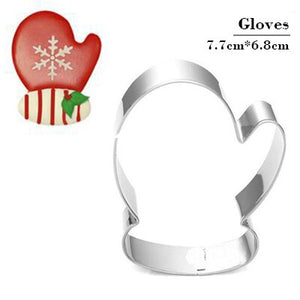 Snowflake Christmas Gingerbread Man Cookie Tools Cutter Mould