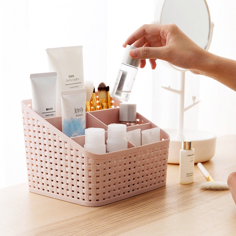Makeup Organizer Cosmetics Storage Container Drawer Home Desktop Sundries Jewelry Storage Box