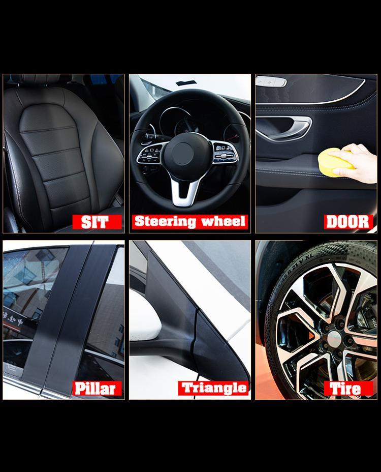 Premium Auto & Leather Renovated Coating Paste