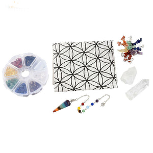 7-Chakra-Power-Stone-Grid-Set