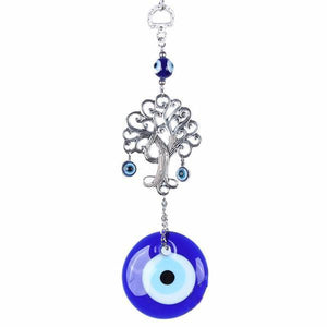 Turkish Tree of Life Evil Eye Wall Hanging Amulet