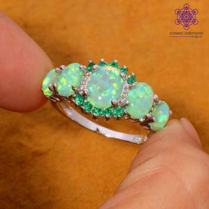 cosmic-curations-green-fire-opal-&-emerald-ring