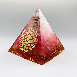 cosmic-curations-red-orgonite-pyramid