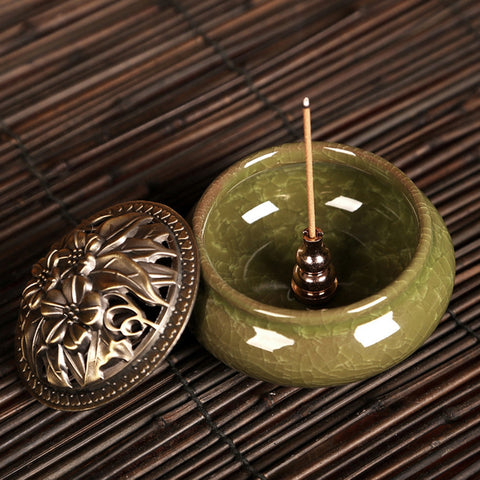 Portable Copper Incense Burner