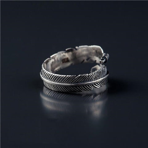 sterling-silver-feather-open-ring