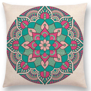 Dreamy Mandala Chakra Pillow Case Cover