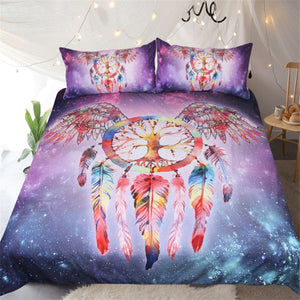 Cosmic Dream Catcher 3 Piece Bedding Set