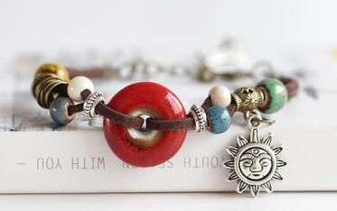 """Spirit Of The Sun"" Solar Energy Bracelet"
