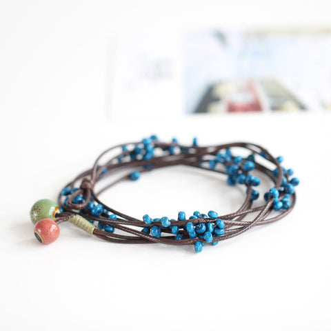 """Inner Aphrodite"" Beaded Constellation Bracelet"
