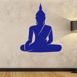 Meditating Buddha Vinyl Wall Decal