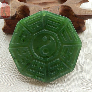 Authentic Jade Bagua Pendant