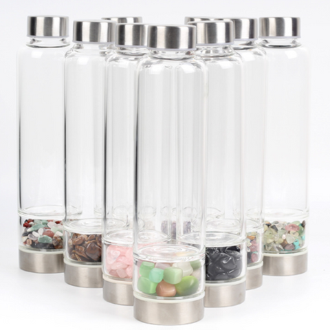 Gemstone Elixir Infuser Water Bottle