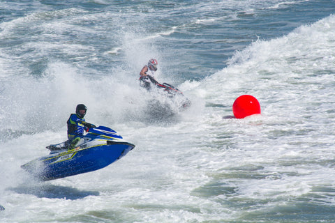 two Jet Skis in Sea