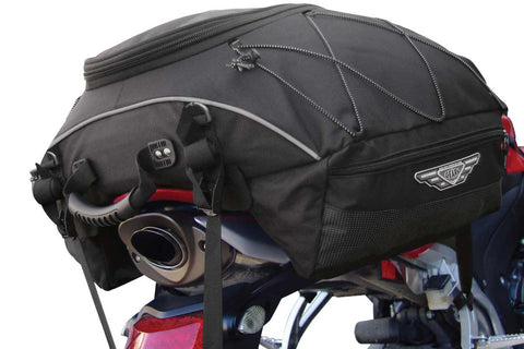 Tail bag for motorcycle
