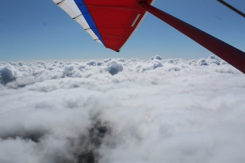 GEARS clothing when freezing above the clouds