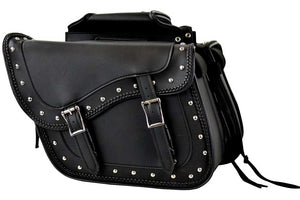 Studs & Braids Motorcycle Saddlebag - Gears Canada