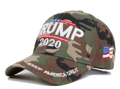 Trump 2020 Keep America Great Camo Hat