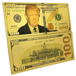 Gold Plated $100 Bank Note (8/set)
