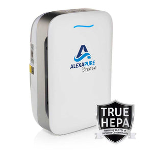 Alexapure Breeze True HEPA Air Purifier - alexapure.com