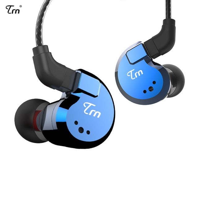 TRN V80 2BA+2DD Hybrid Metal In Ear Earphone